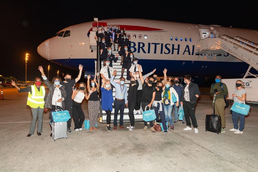 Heathrow reopens 'gateway to world'
