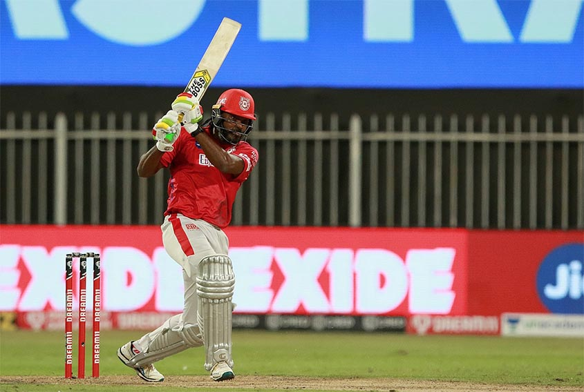 Gayle shines with 53 on IPL return