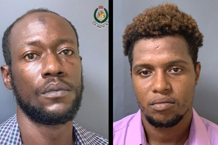 Two men remanded