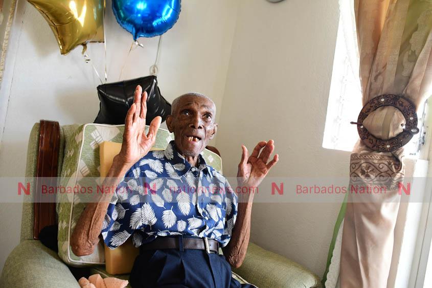Centenarian puts God first