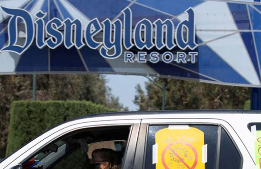 Further delay in Disneyland reopening