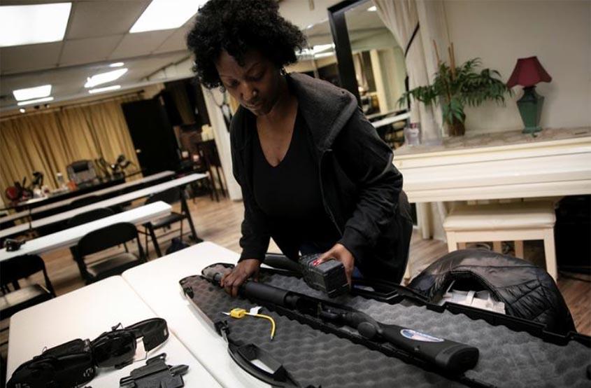 Gun sales up in US