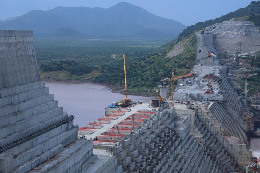 Ethiopia bans flights over dam