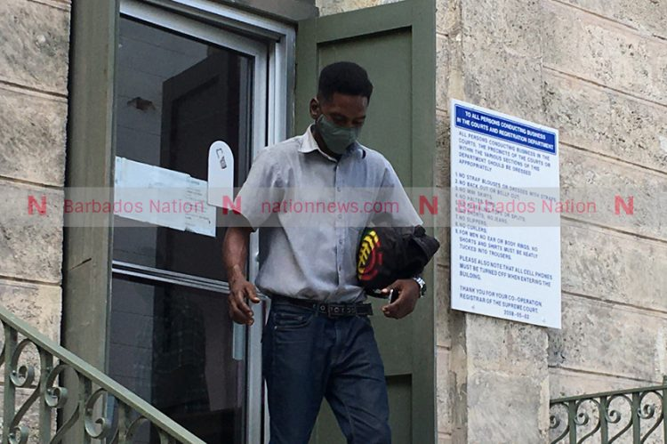 Bail for driver on mask charge