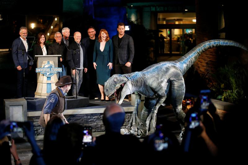 Filming suspended on new Jurassic movie