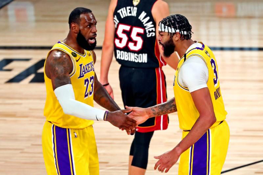 Lakers dominate Game 1 of NBA Finals