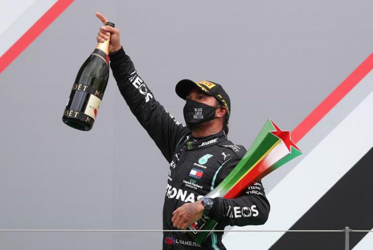Hamilton stands alone with 92 Formula 1 wins