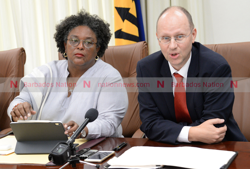 IMF mission lauds Barbados' progress