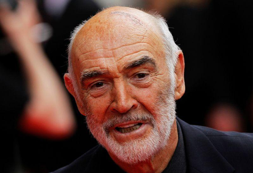 Sean Connery dies at 90