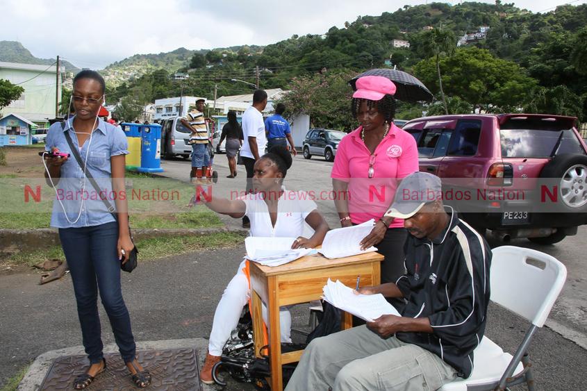Voting protocols for St Vincent