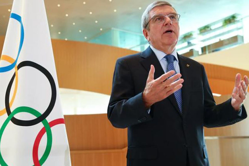 Olympics 'not place for demonstrations'