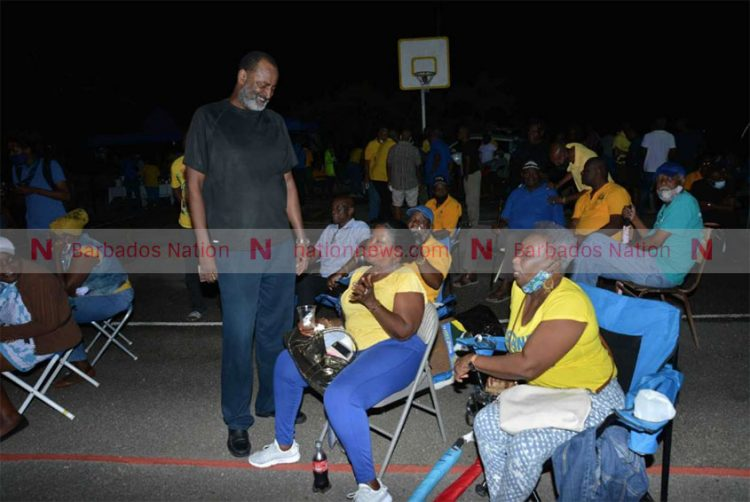 Wood speaks at DLP meeting, but says he has not joined the party