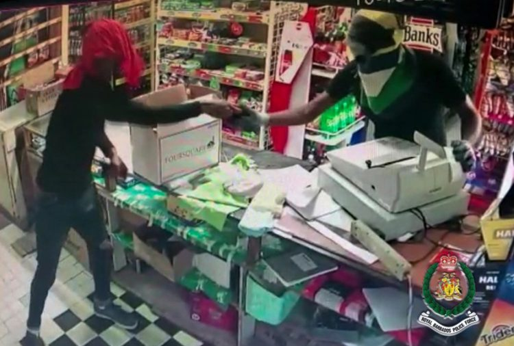 Police seeking two involved in armed robbery