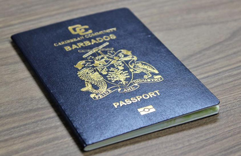 Change to Barbados passport