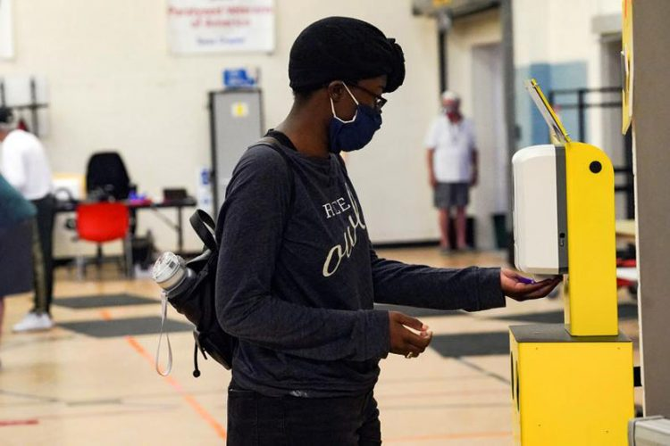 Texas judge to hear case to toss drive-through votes