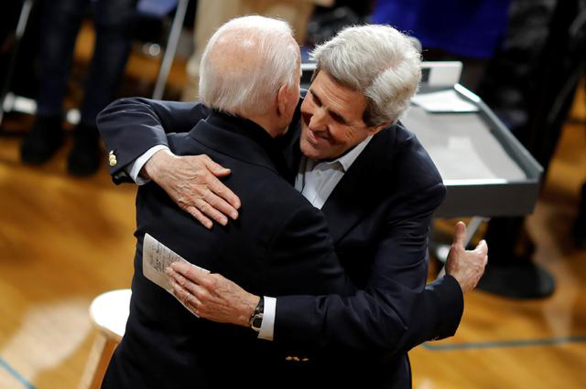 Kerry named climate envoy