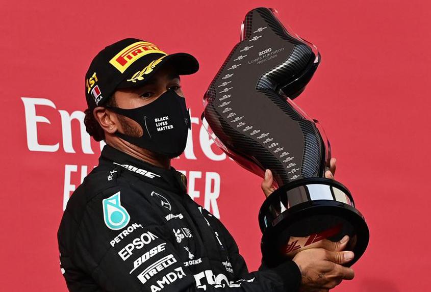 Double celebration for Mercedes at Imola