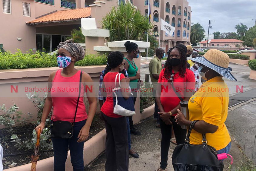 Accra workers also out in protest