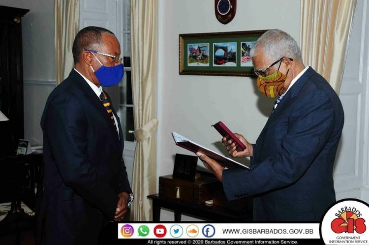 Acting Governor General sworn in