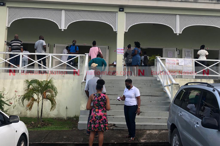 Voters head to the polls early in St George