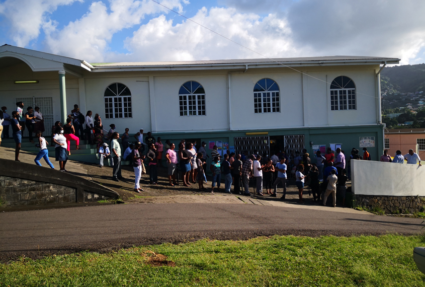 Voting starts in St Vincent and the Grenadines