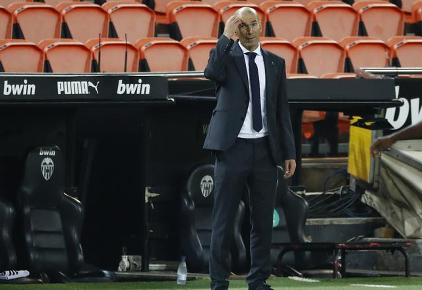 Zidane worried about crowded fixtures
