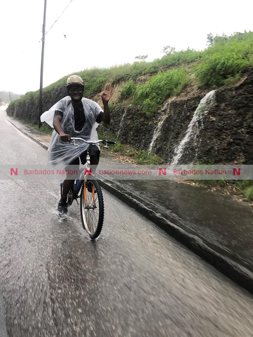 Rain hits campaign trail