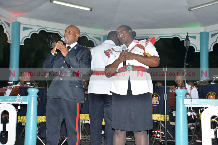 Police Band spreads cheer at BARP concert