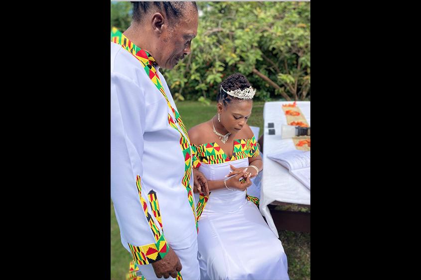 Gabby takes a bride