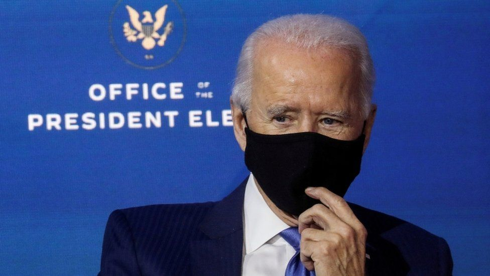 Biden will ask Americans to wear masks for 100 days