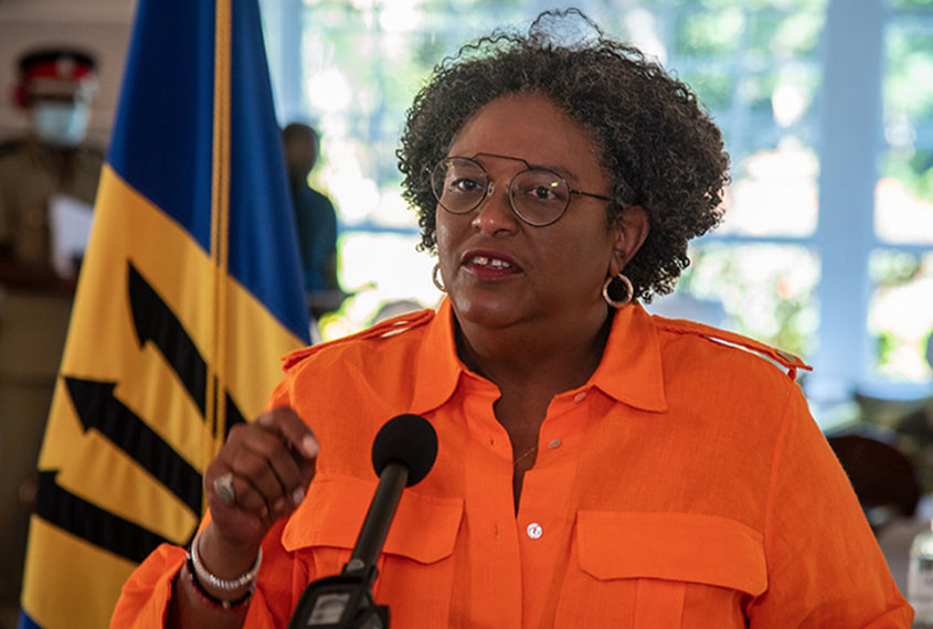 Mottley announces curfew after ten new COVID-19 cases recorded