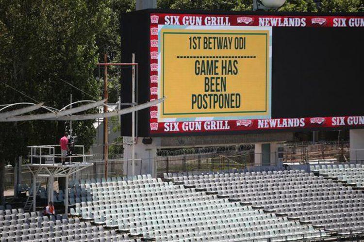 England, South Africa ODI series postponed