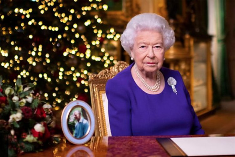 Queen's Christmas message tops TV ratings