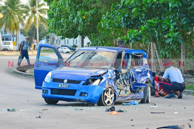 Accident on Harbour Road