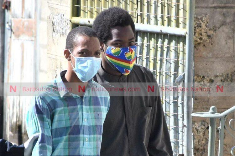 Two fined for breaking curfew