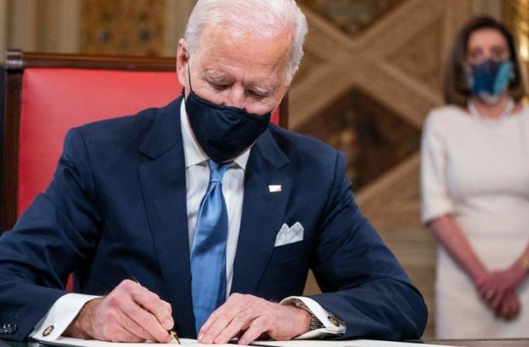 Biden to sign ten executive orders to tackle COVID-19