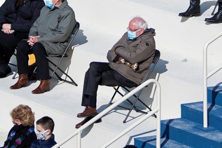 Bernie Sanders' casual mittens look triggers bobblehead sales bonanza