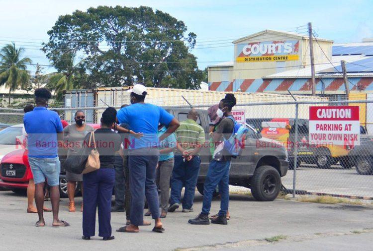 Servitech, Courts Distribution staff off the job