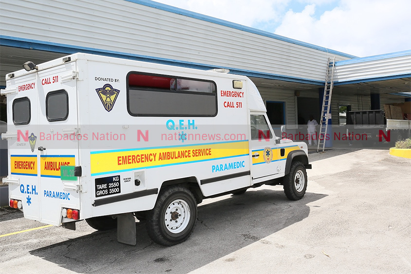 Notice: Technical difficulties at Ambulance Service