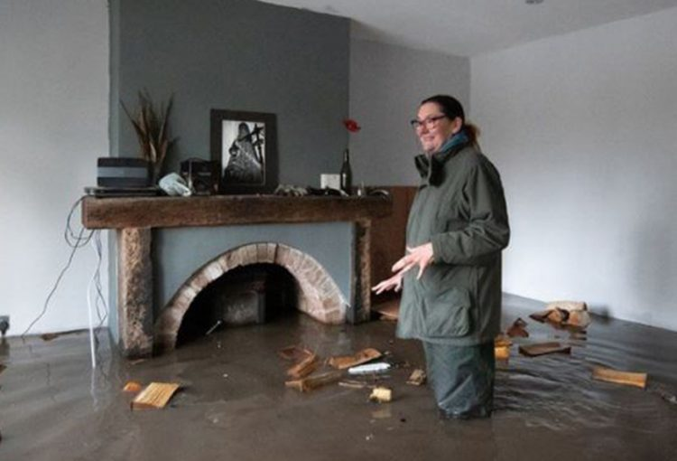 Evacuations as Storm Christoph affects UK