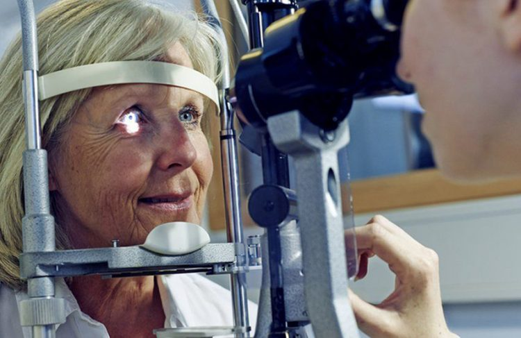 UK charity promotes 'Fight For Sight'