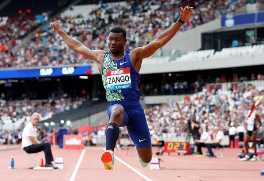 Zango sets world indoor record in triple jump