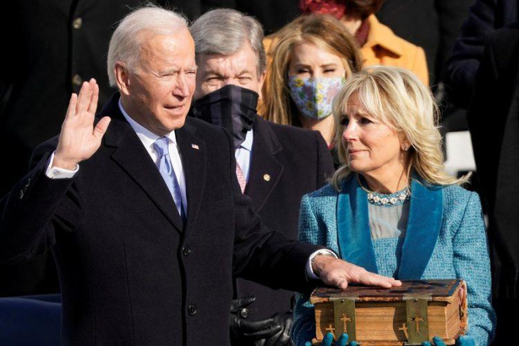 Biden sworn in as president