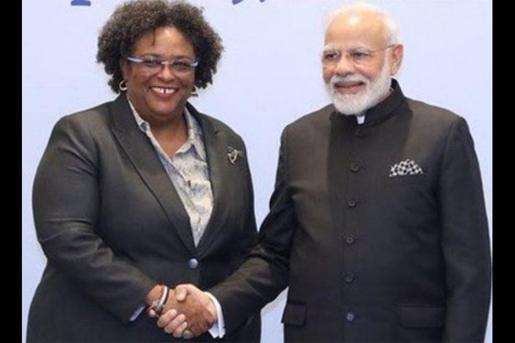 India sends vaccines to Barbados