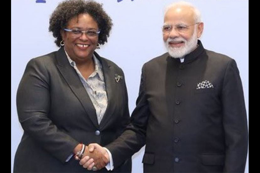 """Special friendship"" between Barbados and India"