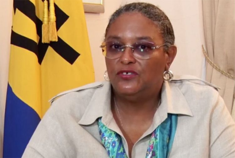 Mottley, seven others get COVID-19 vaccine