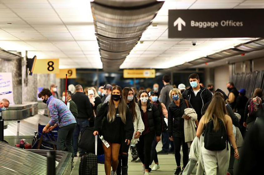 Fully vaccinated can travel to US from November 8