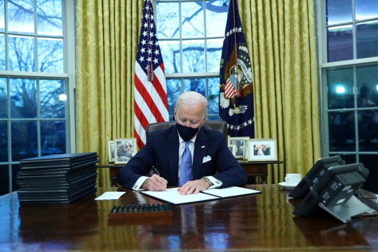 Biden's first executive orders