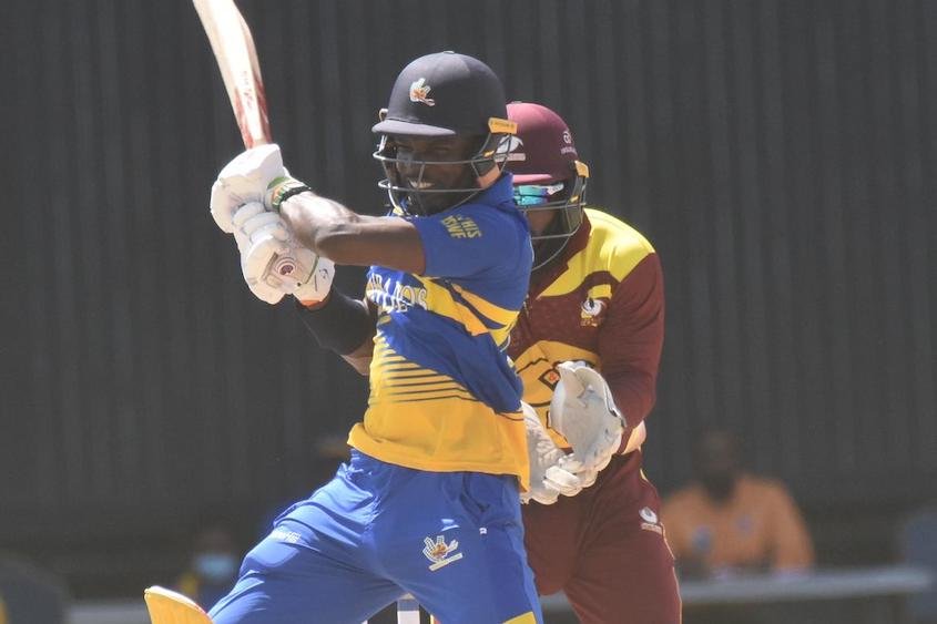 Carter leads Pride batting with 100 in Super50 minor playoff