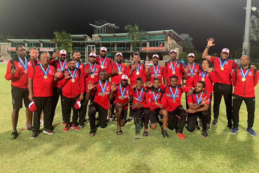 Simmons and Rampaul propel Red Force to 13th Super50 title